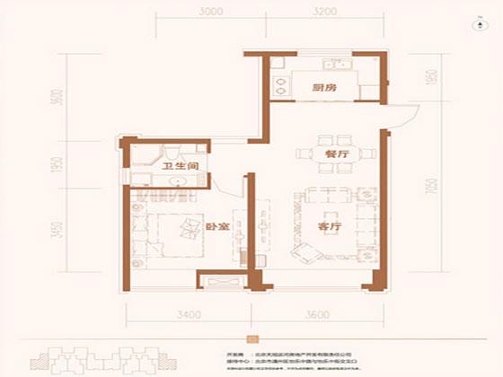 京贸国际公馆户型