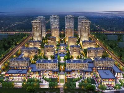 天津绿城春熙明月项目在售多种户型!