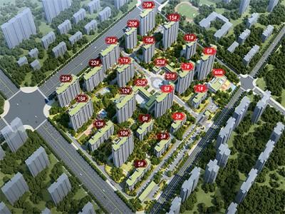 霸州绿宸·迎宾华府项目在售高层及洋房房源!